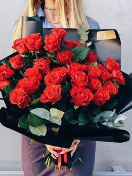 """Шикарный букет из роз """"Эльторо"""""""